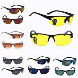 Fashion Men Night Vision Sunglasses UV400 Lens Driving Glass