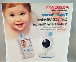 Video Baby Monitor FHSS Foscam FBM2307 + NEW Battery