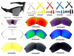 Galaxy Replacement Lenses For Oakley Flak Jacket Sunglasses