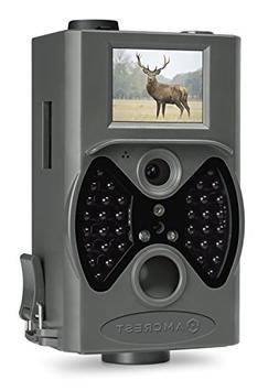 "Amcrest 12MP Game & Trail Camera 2"" LCD Screen, 100° FOV, 6"