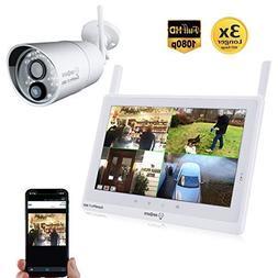 Sequro GuardPro2 Plus 1080P Wireless Security Camera System