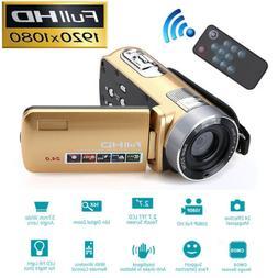 HD 1080P 18X Zoom LCD Night Vision Digital Video Recorder DV