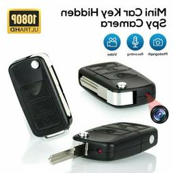 HD 1080P Car Key Chain Mini Hidden Motion Camera Video DVR I