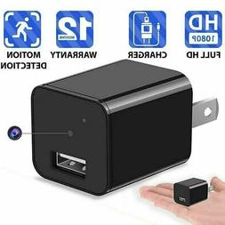 HD 1080P Hidden Mini Spy Camera Charger WiFi Adapter Home Se
