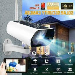 HD 1080P Solar Powered Energy Security Camera Wireless WiFi