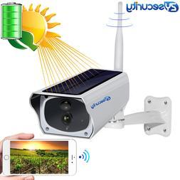 HD 1080P Solar WiFi IR Bulllet Security IP Camera Outdoor So