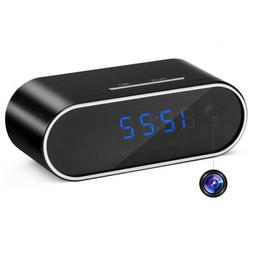 HD 1080P Spy Hidden Camera Clock WiFi Wireless Security Home