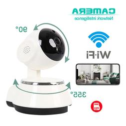 HD 720P Night Vision Wireless WIFI Security Camera Audio CCT