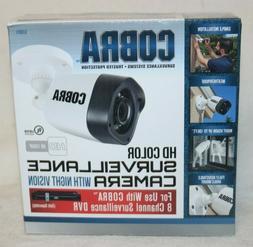 Cobra HD Color Surveillance Camera with Night Vision 1080P 6