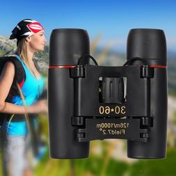 HD Foldable Binoculars Day and Night Vision Mini Telescope Z