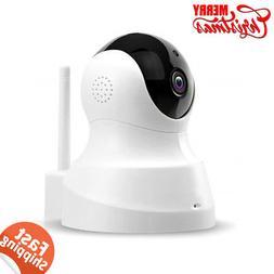 TENVIS HD IP Wireless WiFi Indoor w/ Two-way Audio Night Vis