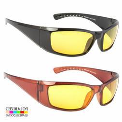 Hd Night Vision Polarized Glasses Driving Aviator Sunglasses