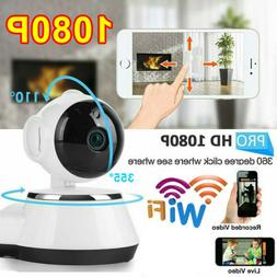 HD Night Vision Wireless WiFi Smart Home Security Camera Vid