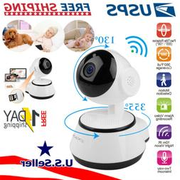 HD Smart Home Security Wi-Fi IP Camera 2-Way Talk Night Visi