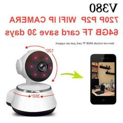 HD Smart Home Security WiFi IP Camera 2-Way Talk Night Visio