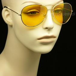 HD sunglasses night driving vision safety shoot yellow pilot