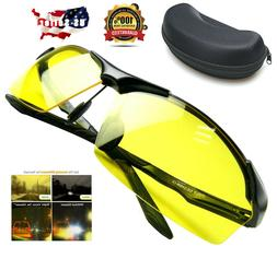 Polarized Tac HD Night Vision Glasses for Men Driving Sports