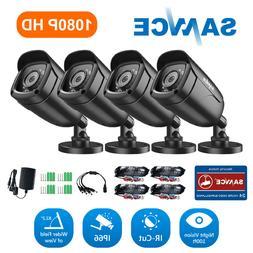 SANNCE HD 720P TVI 1500TVL CCTV IR Night Vision for Home Sec