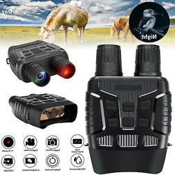 HD Video Digital Zoom Night Vision Infrared Hunting Binocula