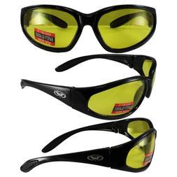 Global Vision Hercules Sunglasses w/Yellow Lenses