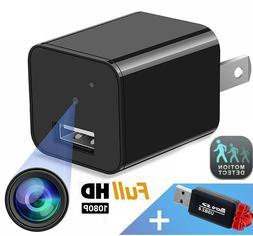 hidden camera wall charger night vision nanny