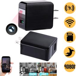 Hidden SPY Cam Wall Charger Night Vision