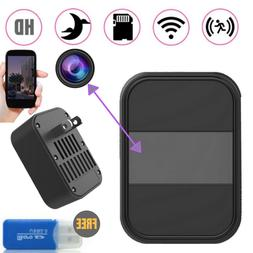 Hidden SPY Camera Wall Charger WiFi Motion  Night Vision Rem