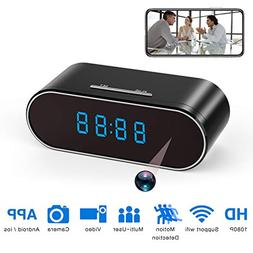 Hidden Spy Camera Clock HD 1080P IP Cameras with Night Visio