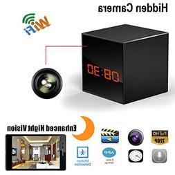 Hidden Spy Camera Wireless Network Nanny Camera Smart Clock