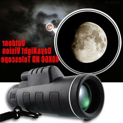 high power 40x60 hd monocular telescope shimmer
