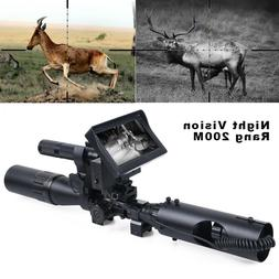 Hunting Night Vision Digital Camera for Rifle scopes with IR