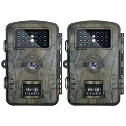 Neewer 2 - Pack Hunting Trail Camera with 940nm Infrared Nig