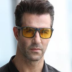 Imitate Bamboo Polarized Sunglasses Men Driving <font><b>Nig