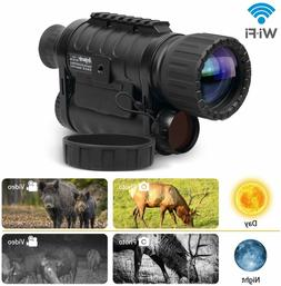 infrared hd night vision monocular with wifi