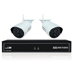 Night Owl WNVR201-42P-B 4 Channel 1080p Wireless Smart Secur