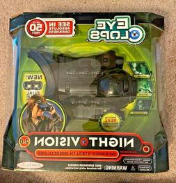 Jakks Pacific EYE CLOPS Night Vision Goggles Stealth Infrare