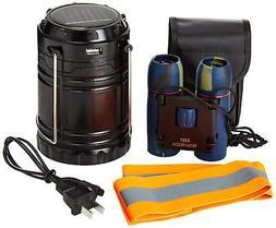 Kids Compact Waterproof Day Night Vision 30x60 Binoculars wi