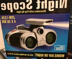Kids Night Scope 4X30 Binoculars Night Vision Goggles,Young