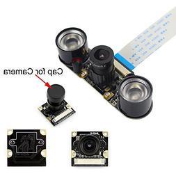 kuman for Raspberry PI Camera Module 5MP 1080p OV5647 Sensor