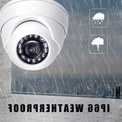 HDView 2.4MP 4-in-1 1080P 24 IR-LEDs Night Vision Video