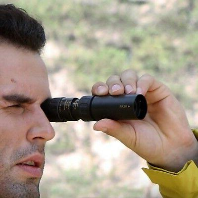 10-90x25 Monocular Telescope Pocket-Size Outdoor Mini HD Nig