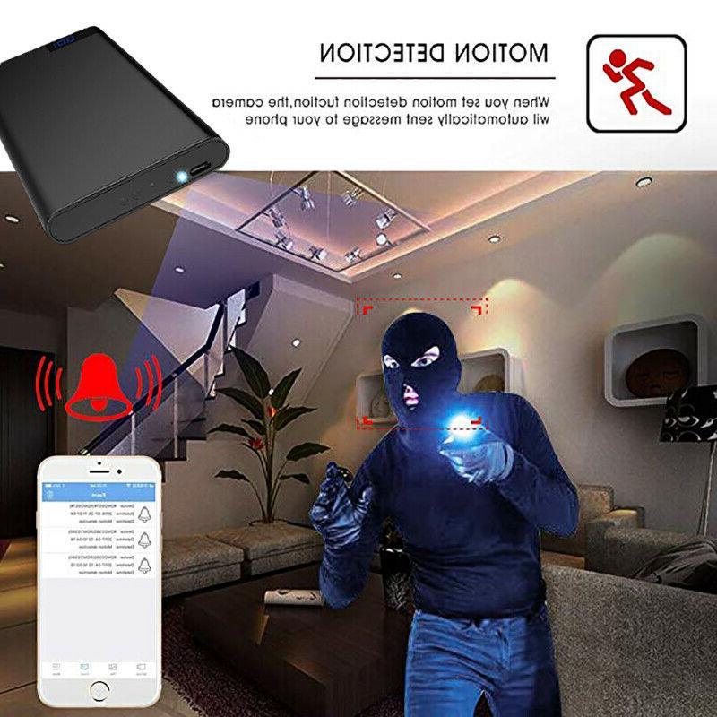 10000mAh Bank WIFI 1080P Hidden Camera Night DVR