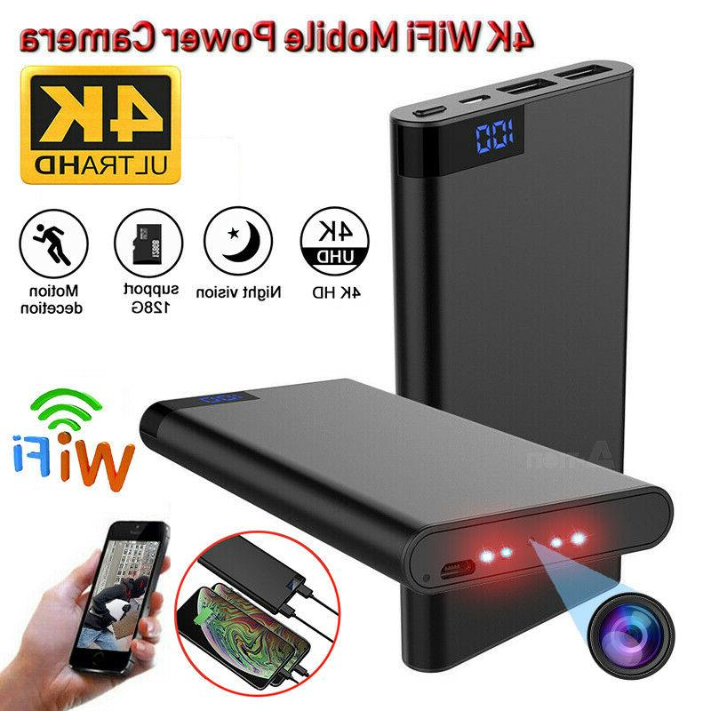 10000mah power bank 4k wifi hd 1080p