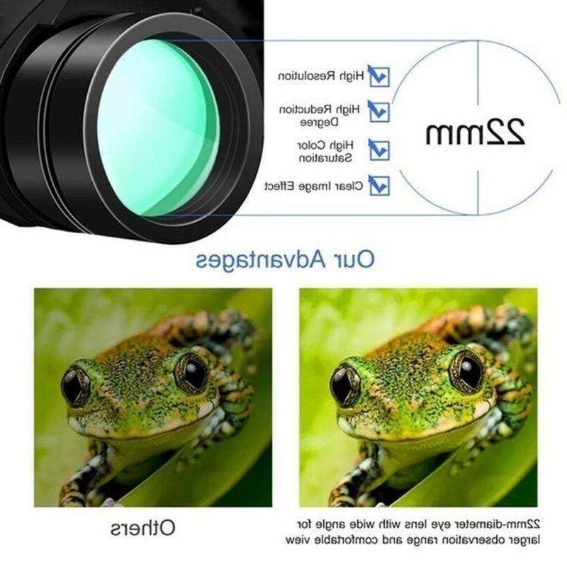 100X180 Binoculars Day Night Vision BAK4 Prism High