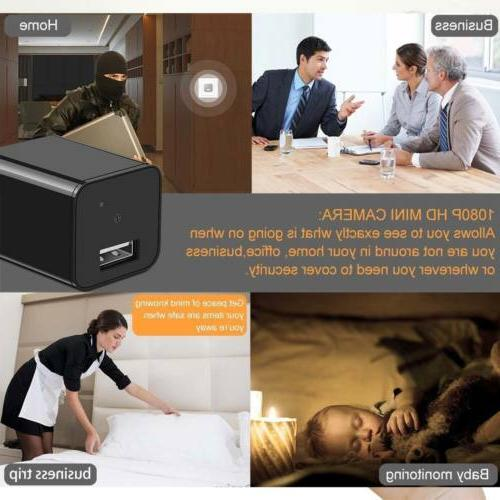 1080P HD Camera Adapter USB Charger Recorder