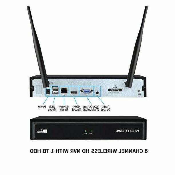 Night 1080p 1TB Wireless Night Indoor Outdoor