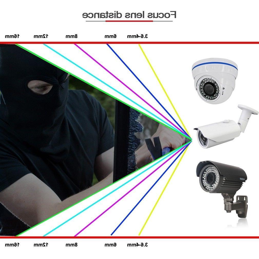 1080P Security Camera CCTV 4in1 Bullet 2MP Camera Outdoor
