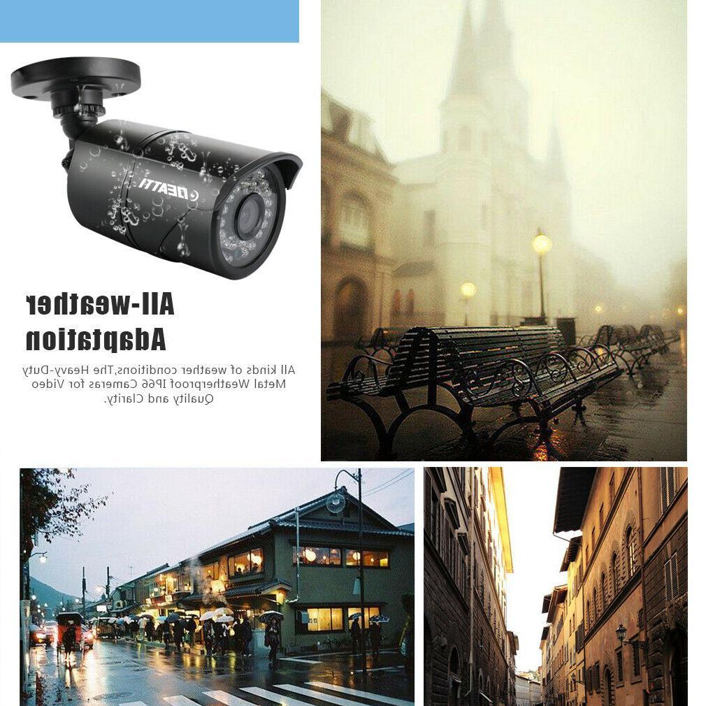 1080P 3000TVL CCTV 4in1 Camera