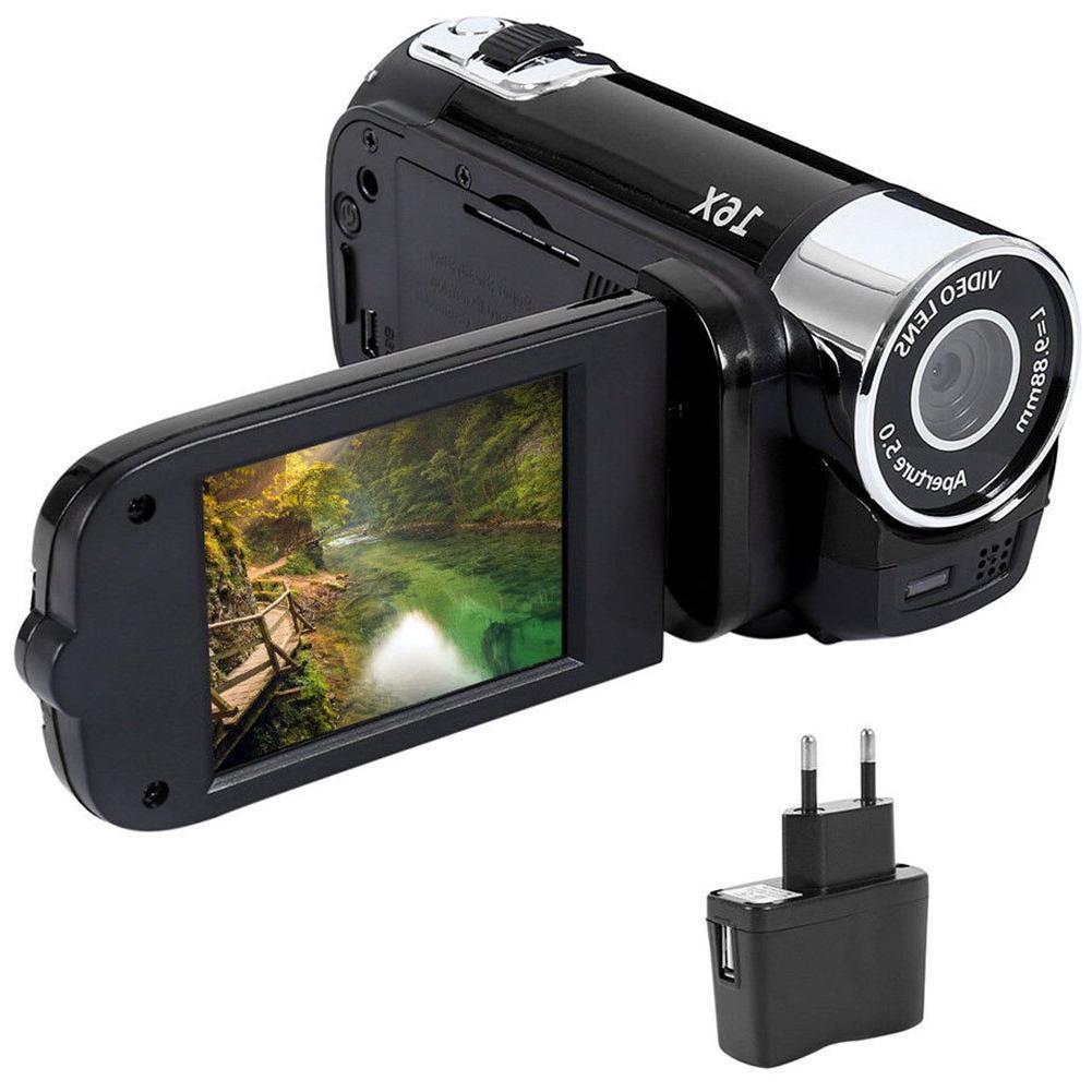 1080P Anti-shake Gifts Digital Camera Portable Clear <font><