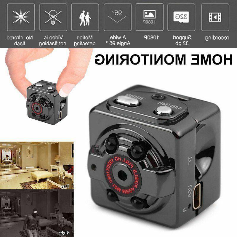 1080P HD Mini Hidden SPY Camera Motion Detection Video Recor